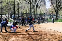 Baseball dans Central Park
