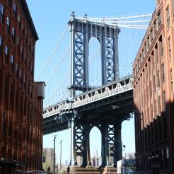 Le pont de Manhattan depuis Dumbo