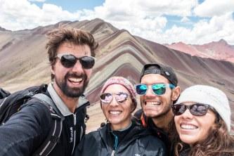 Vinicunca Mountain avec Laure et Shank