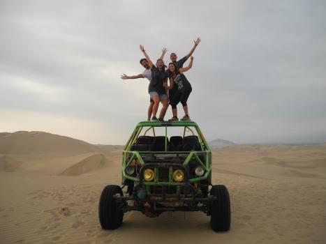 Oasis Huacachina avec Laure et Shank