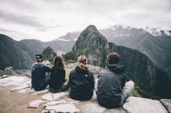 Machu Picchu avec Laure et Shank