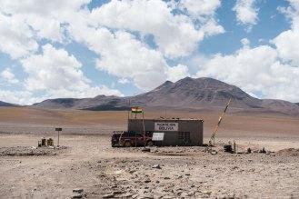 Poste frontière Chili - Bolivie