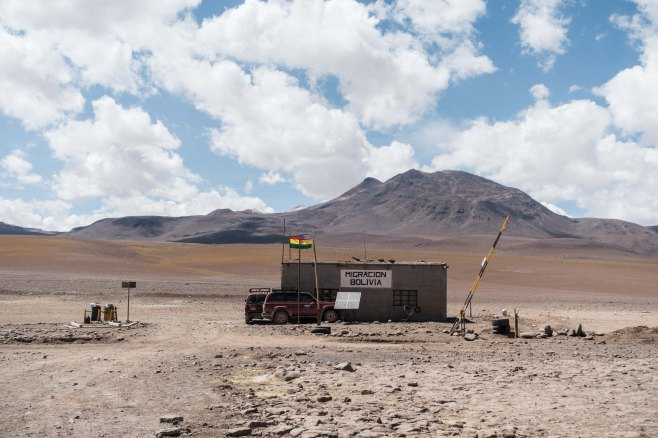 Poste frontière Chili - Bolivie