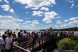 Chutes d'Iguazu - l'envers du décor !