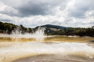 Wai-O-Tapu - Rotorua